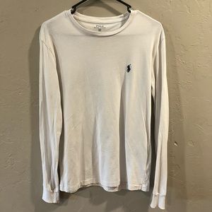POLO Ralph Lauren Men White Long sleeve Shirt